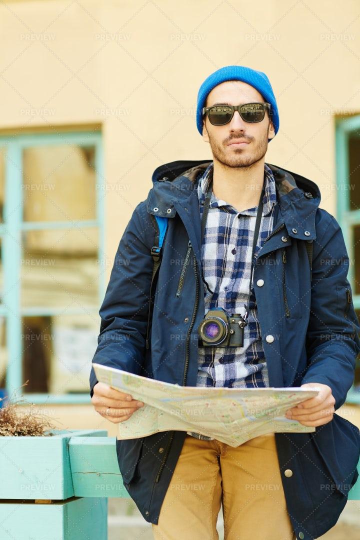 Contemporary Solo Traveler: Stock Photos