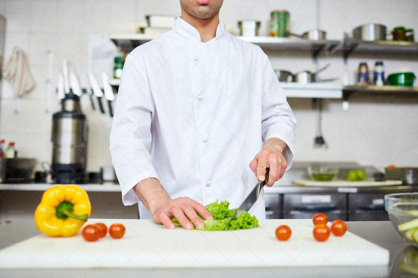 Cooking Healthy Food: Stock Photos