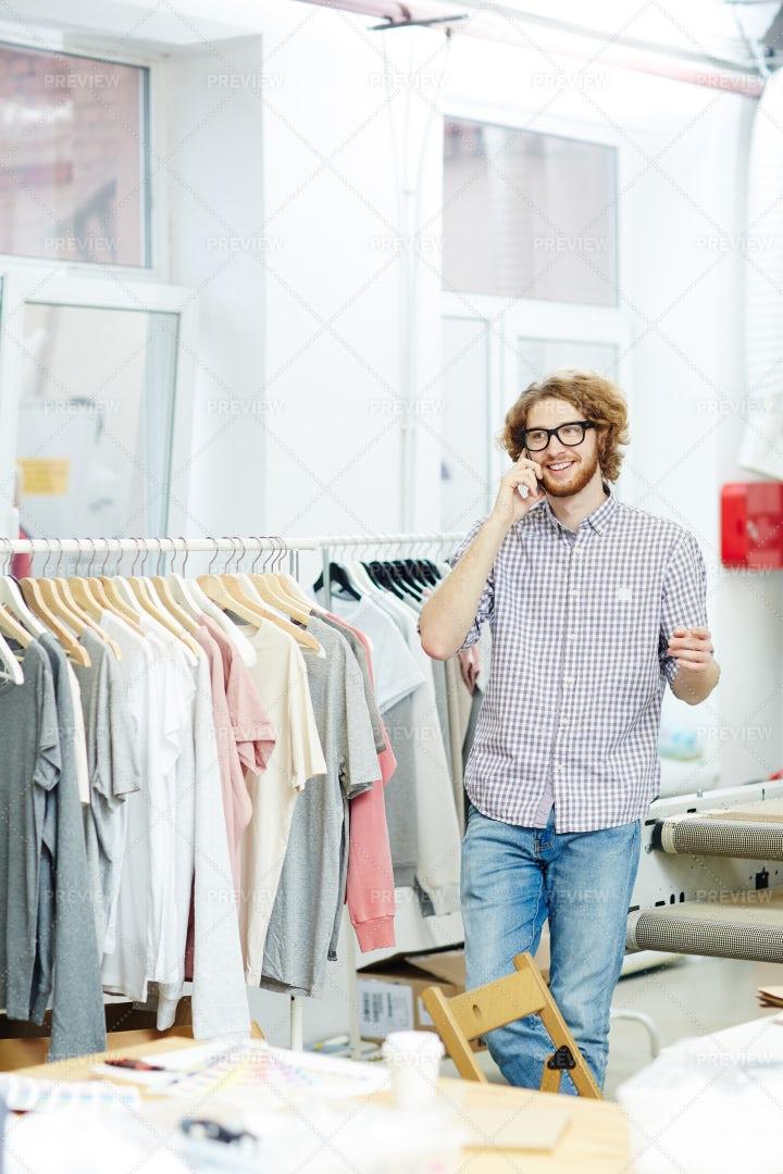 In Clothes Shop: Stock Photos