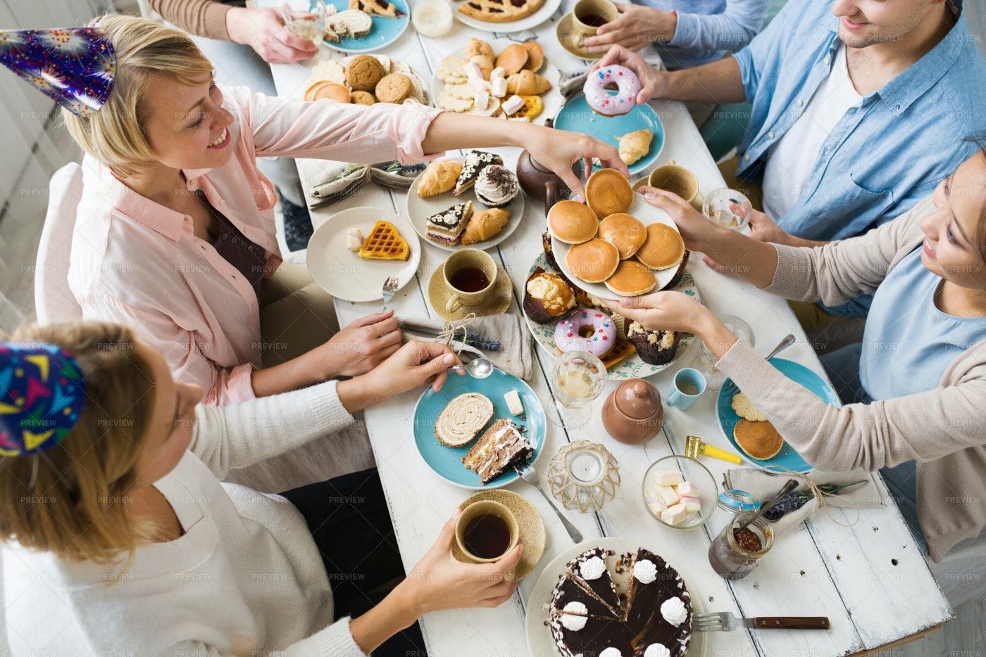 Taking Pancake: Stock Photos