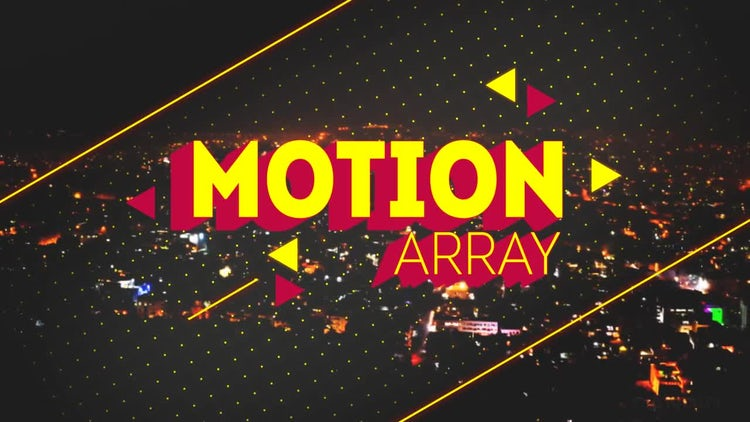Sliced Titles 2: After Effects Templates