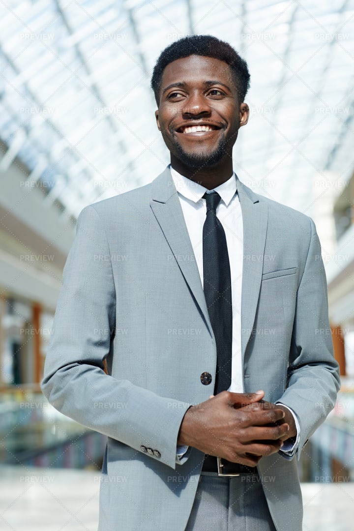 Smiling Businessman: Stock Photos