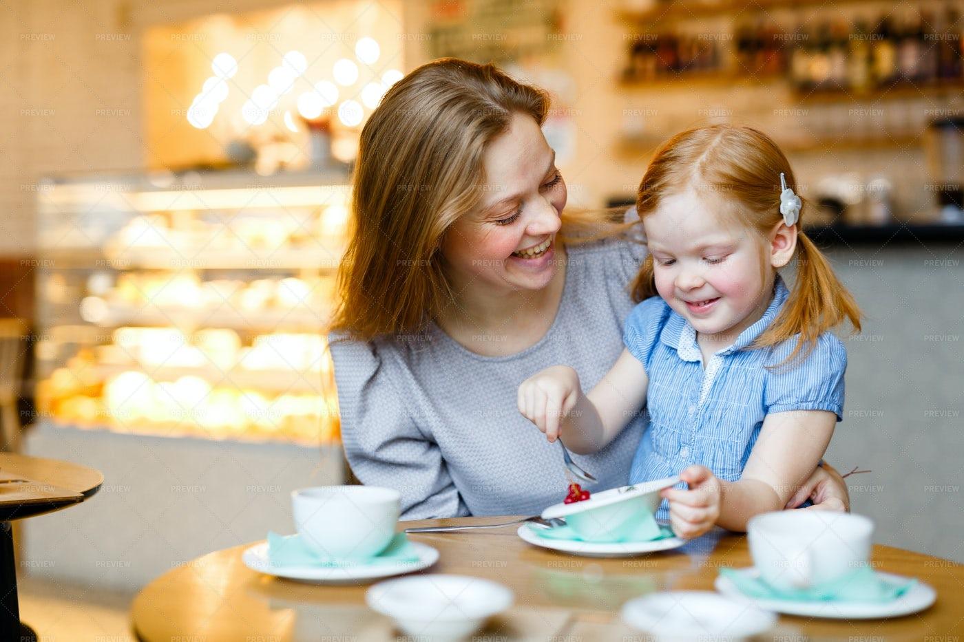 Dessert And Tea: Stock Photos