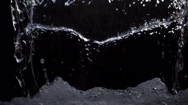 Water Pour: Stock Video