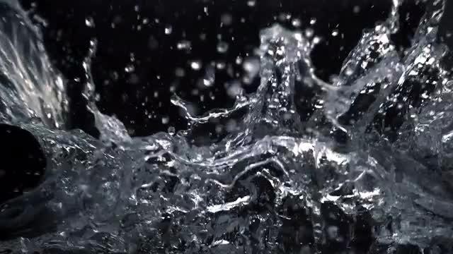 Water Splash: Stock Video