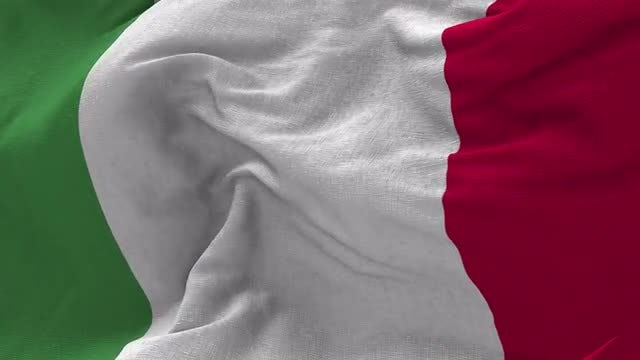 Italian Flag Animation: Stock Motion Graphics