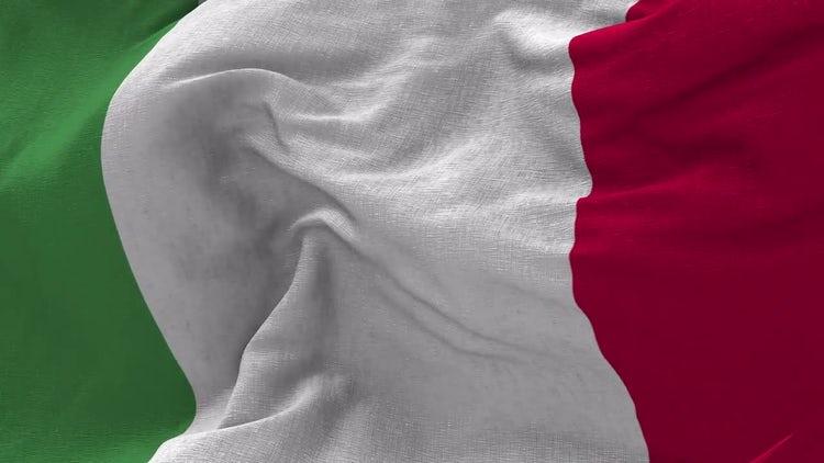 Italian Flag Animation: Motion Graphics