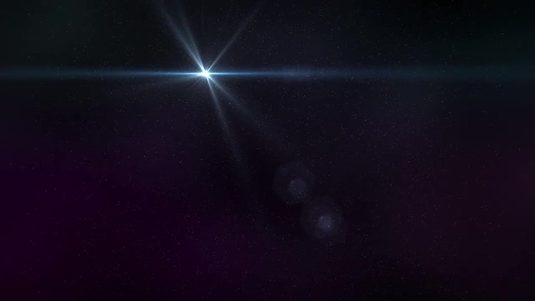 Star Field: Motion Graphics