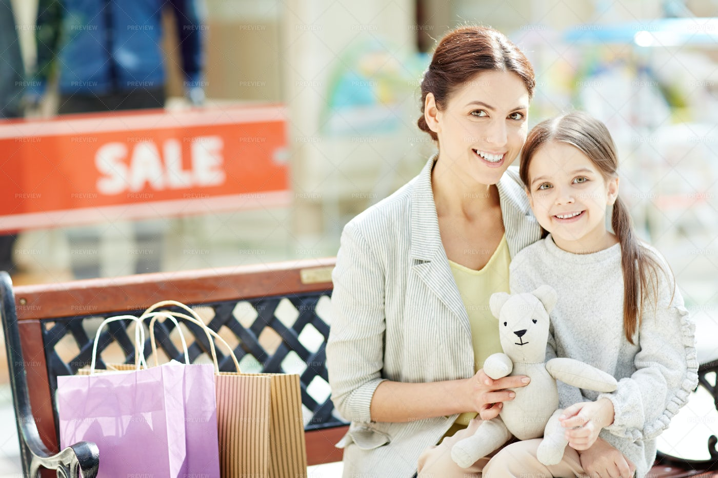 Mother And Daughter: Stock Photos