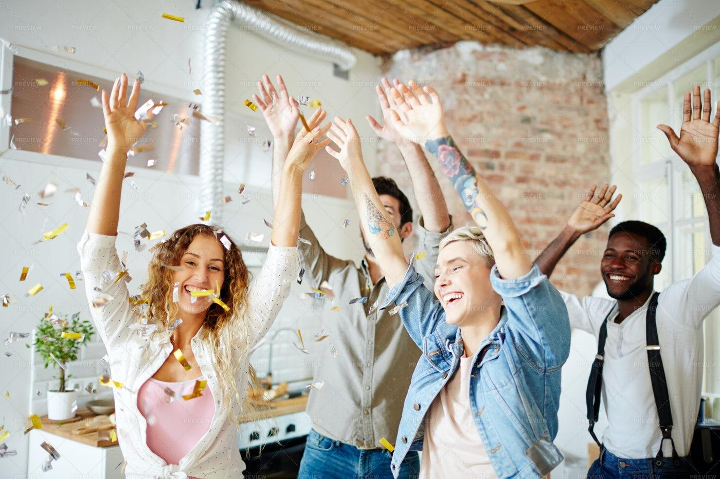 Happy Dance: Stock Photos
