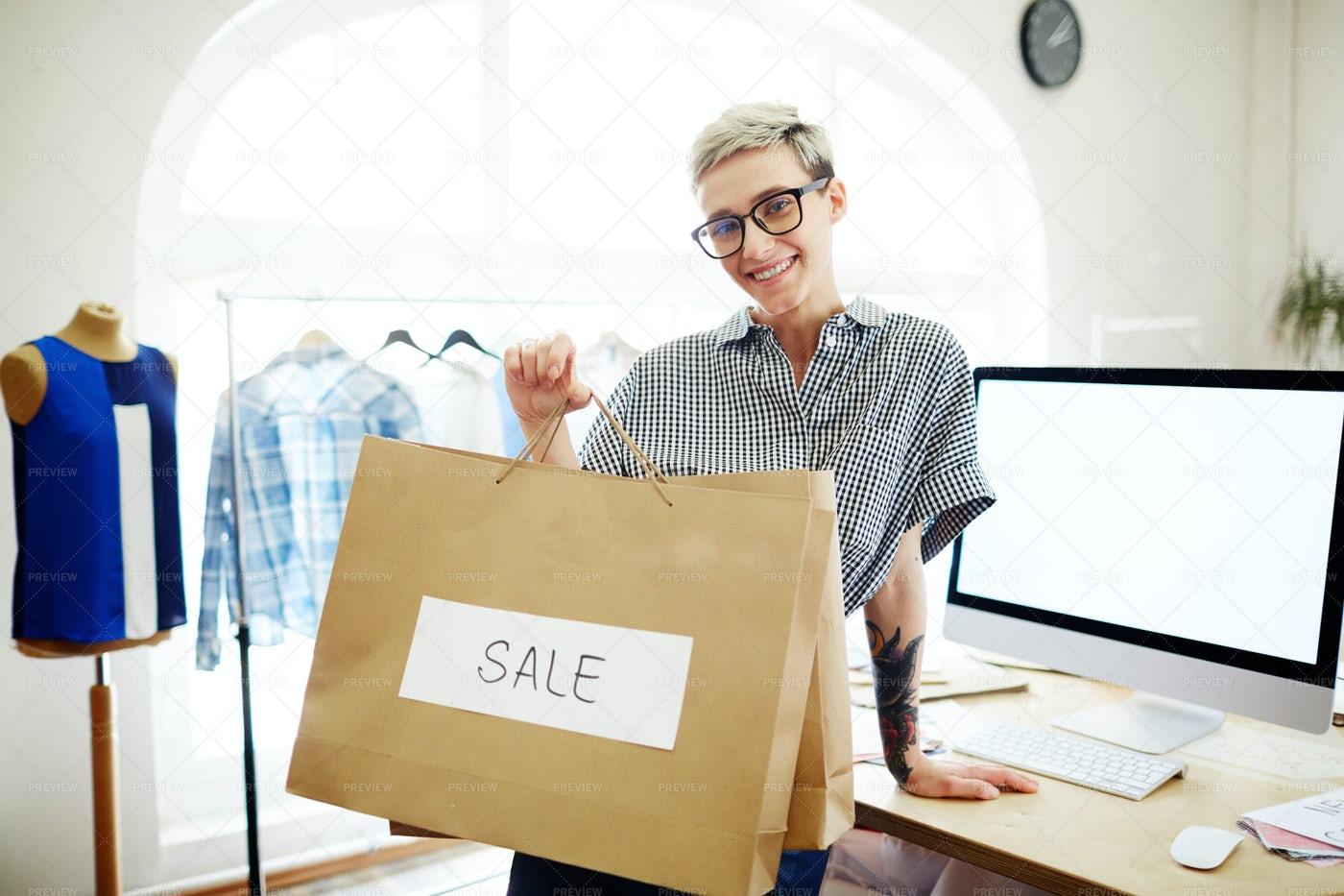 Clothes Sale: Stock Photos