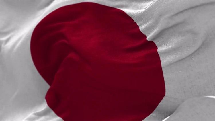 Japan Flag Animation: Motion Graphics