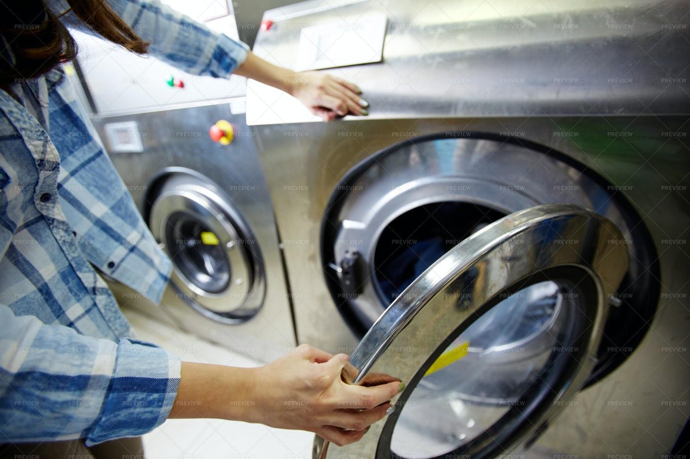 Process Of Washing Clothes: Stock Photos