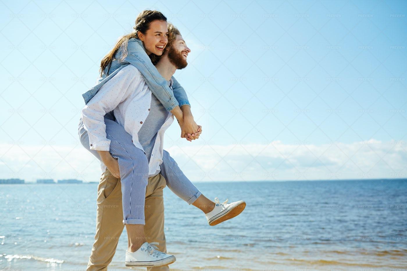 Cheerful Couple: Stock Photos