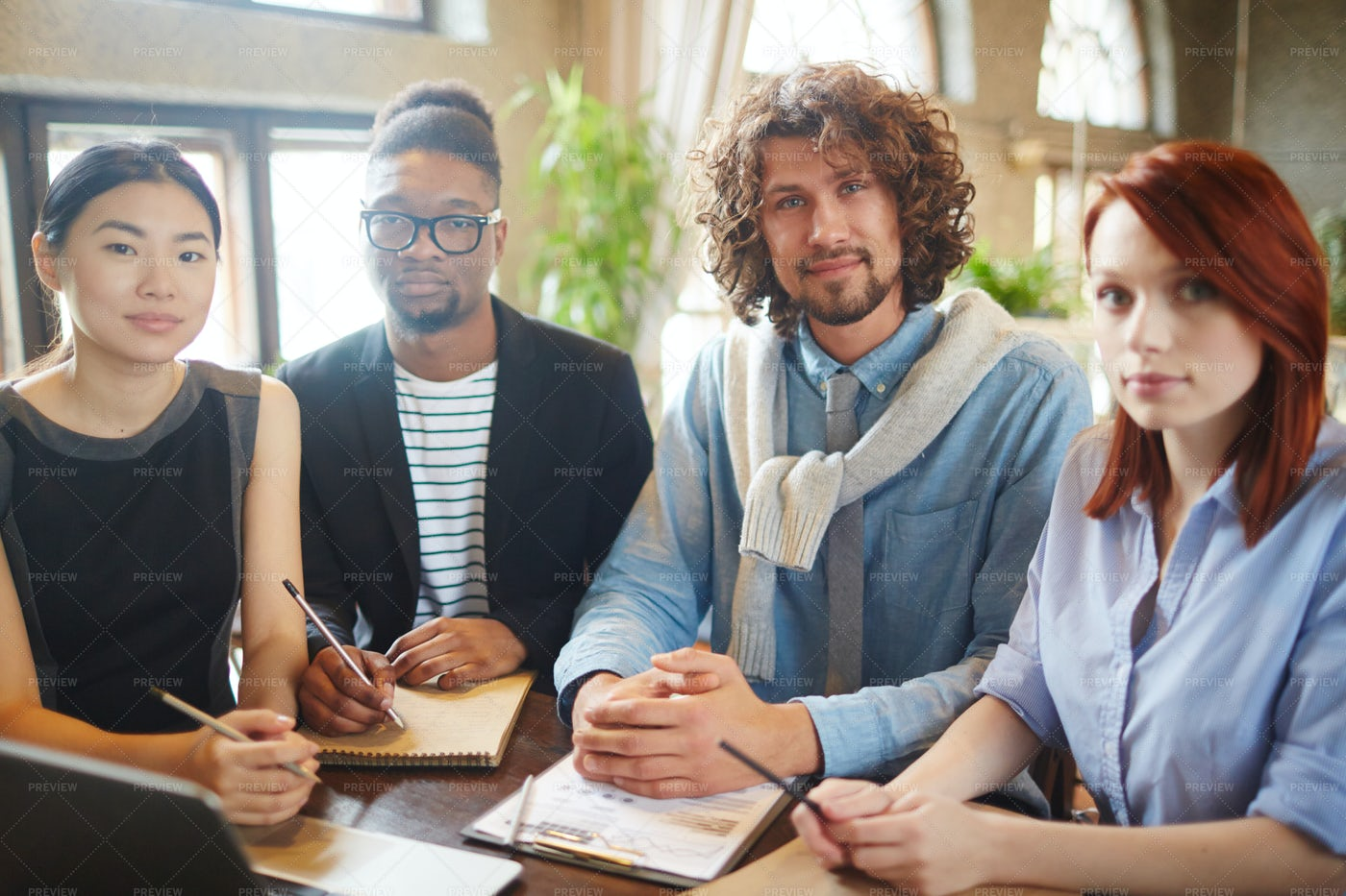 Intercultural Business Team: Stock Photos