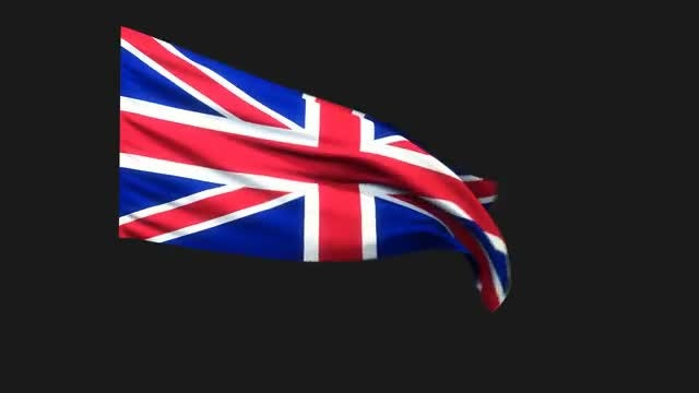 UK Flag 2: Stock Motion Graphics