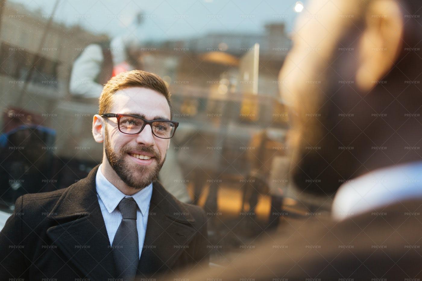 Happy Agent: Stock Photos