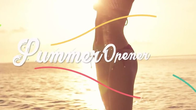 Summer Opener: Premiere Pro Templates