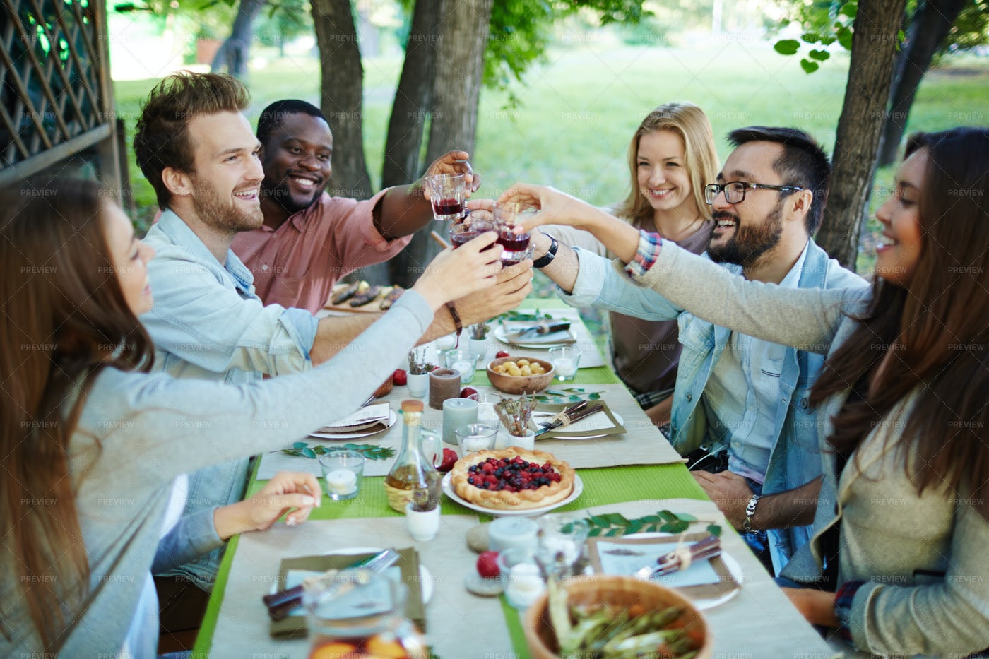 Outdoor Celebration: Stock Photos