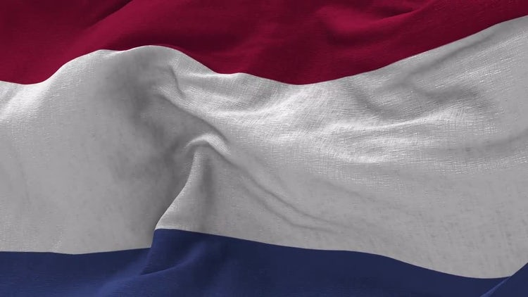 Netherlands Flag Animation: Motion Graphics