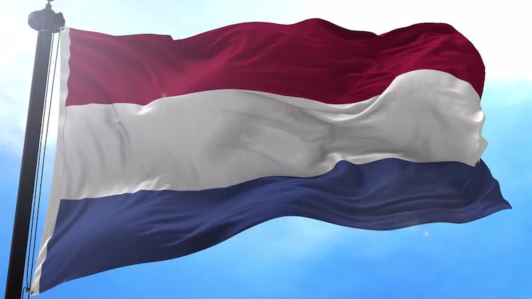 Netherlands Flag Animation: Stock Motion Graphics