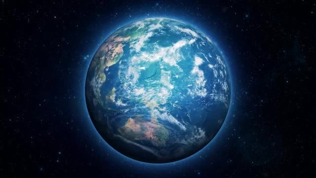 Hyperrealistic Earth Zoom: Stock Motion Graphics