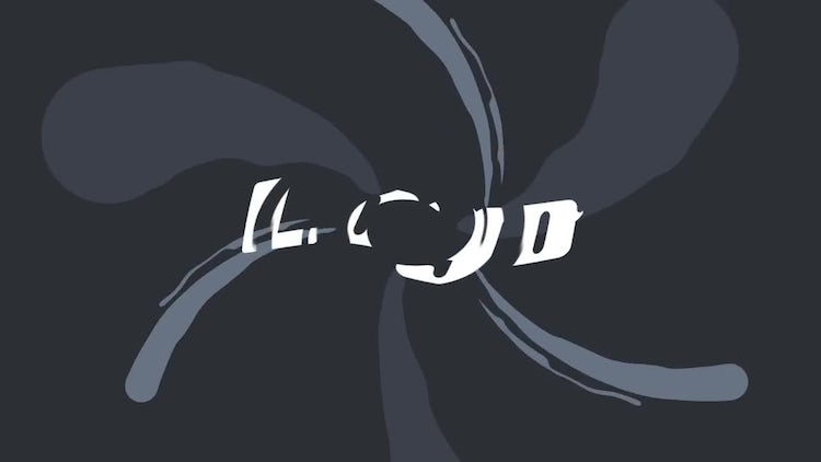 Creative liquid logo: After Effects Templates