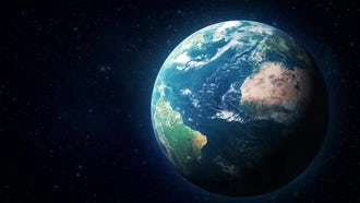 Hyper Realistic Earth 04: Motion Graphics