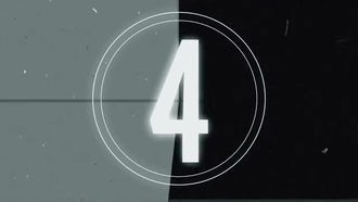 Retro Tape Countdown: Motion Graphics