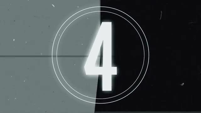 Retro Tape Countdown: Stock Motion Graphics