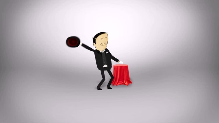 Magic Trick Logo: After Effects Templates