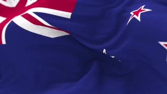 New Zealand Flag Animation: Motion Graphics