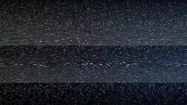 TV Glitch Transition: Stock Motion Graphics