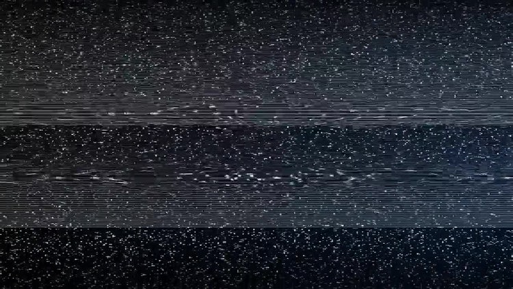 TV Glitch Transition: Motion Graphics