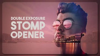 Double Exposure Stomp Opener: Premiere Pro Templates