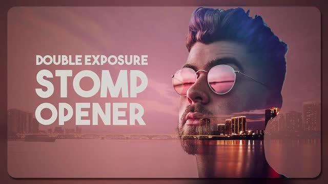 Double Exposure Stomp Opener: Premiere Pro Templates