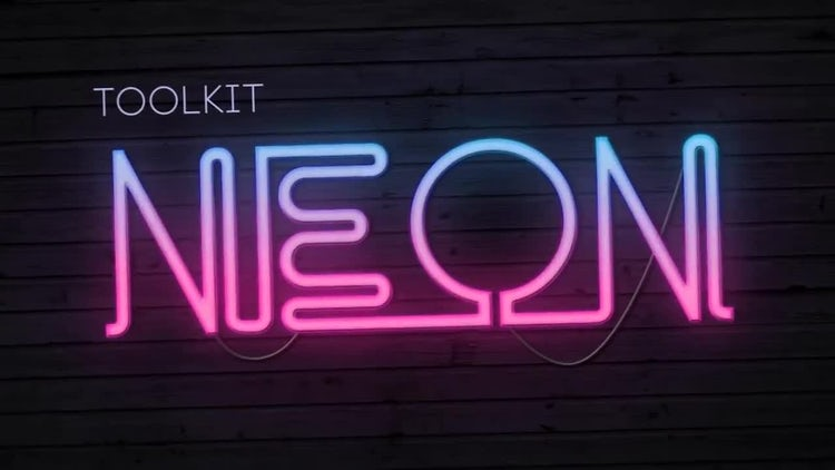 Neon Toolkit: After Effects Templates