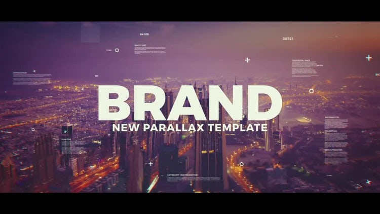Creative Parallax Slideshow: After Effects Templates