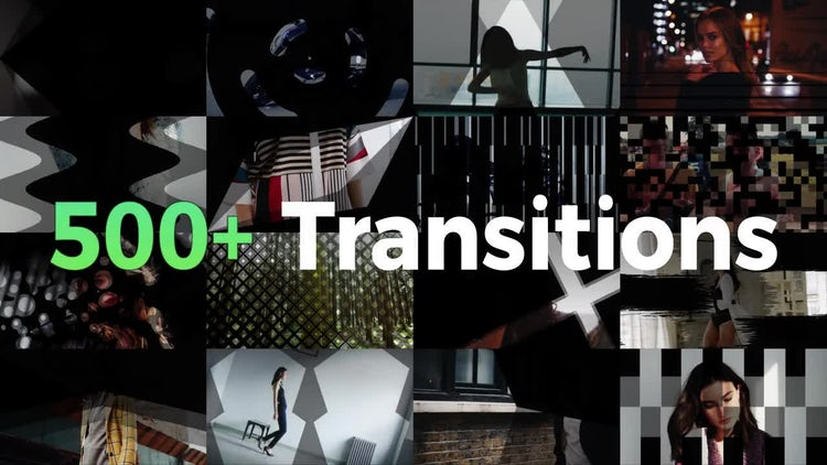 Transition Mattes Toolkit: Premiere Pro Templates
