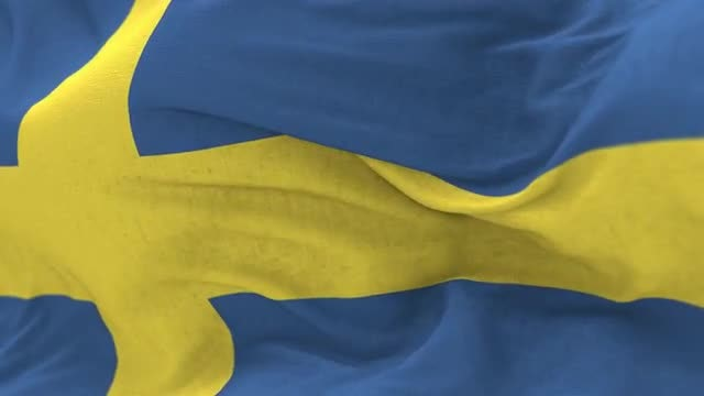 Sweden Flag Animation: Stock Motion Graphics