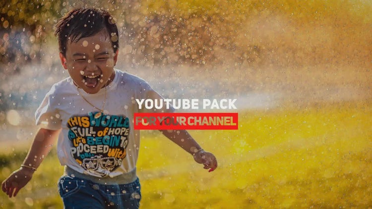 Fresh Youtube Pack: After Effects Templates