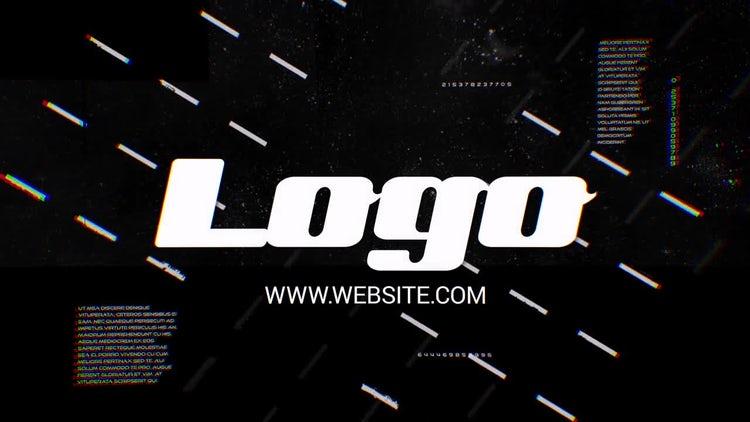 Glitch Futuristic Logo: After Effects Templates