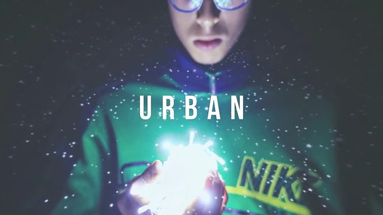 Hip Hop Urban Typo Intro: After Effects Templates