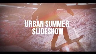 Urban Summer Slideshow: After Effects Templates