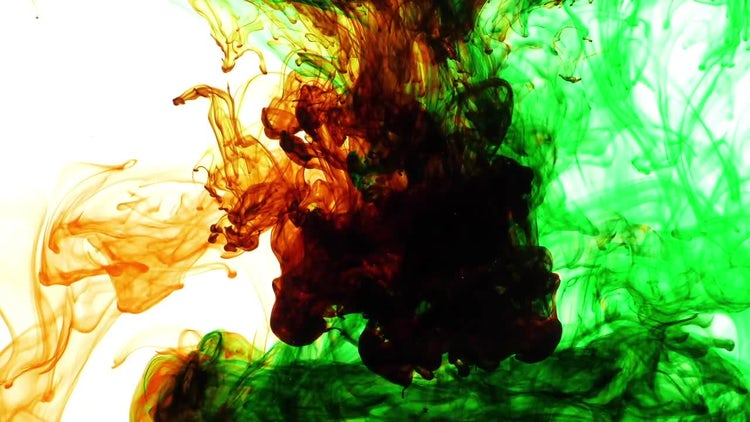Abstract Ink: Stock Video