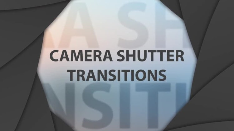 Camera Shutter Transitions: Motion Graphics