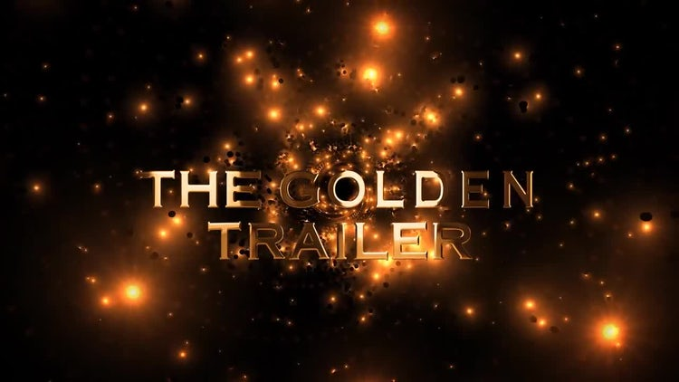 The Golden Trailer: After Effects Templates