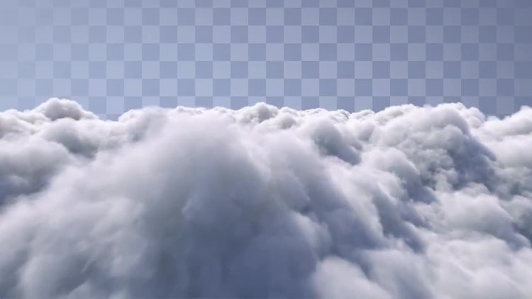 Fly Above The Clouds: Motion Graphics