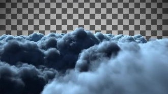 Night Clouds: Motion Graphics