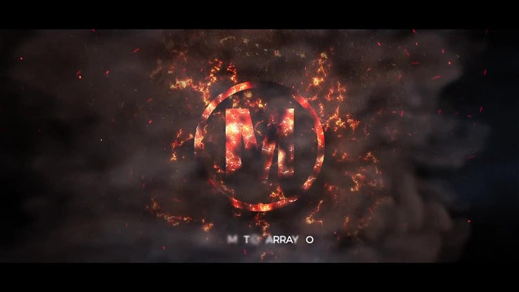 Smoke Logo: After Effects Templates
